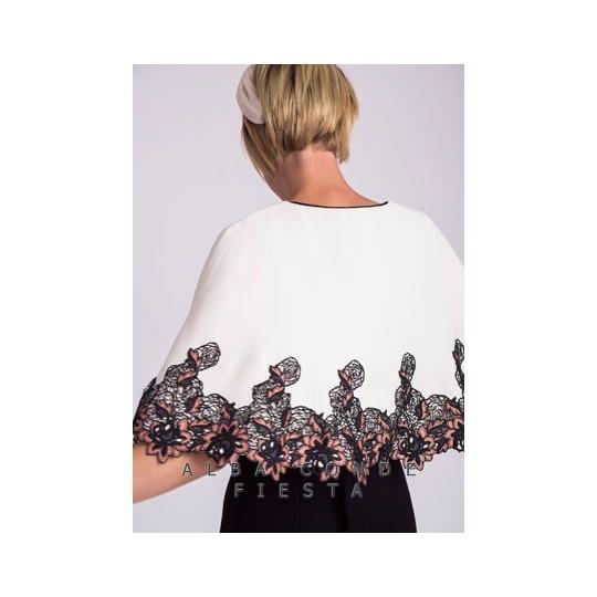 Vestido ALBA CONDE combinado