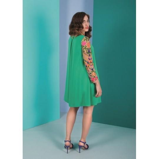 Vestido NURIBEL verde