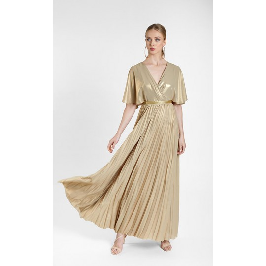 Vestido MARIA LAGO oro