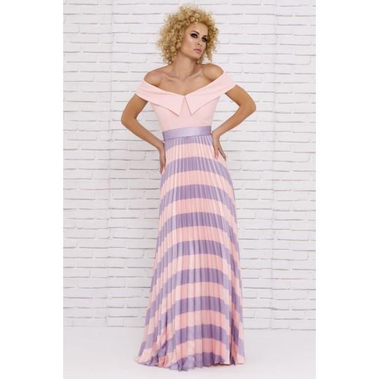 Vestido NURIBEL tonos pastel