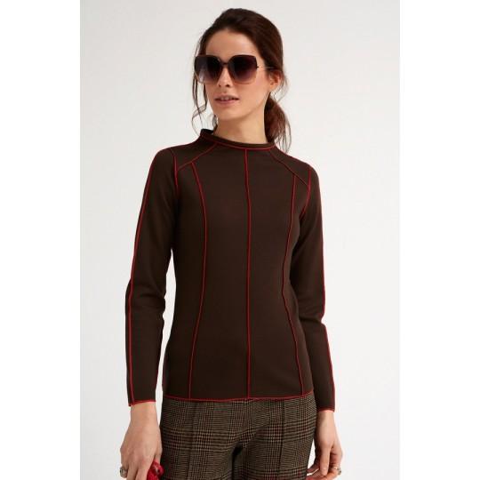 Camiseta OKY COKY marrón