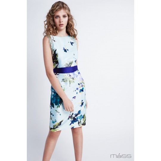 Vestido MATILDE CANO corto de flores